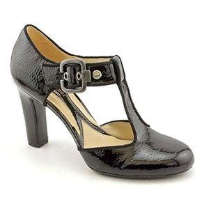 Naturalizer Posh Wide Mary Jane Heels sz 8.5w